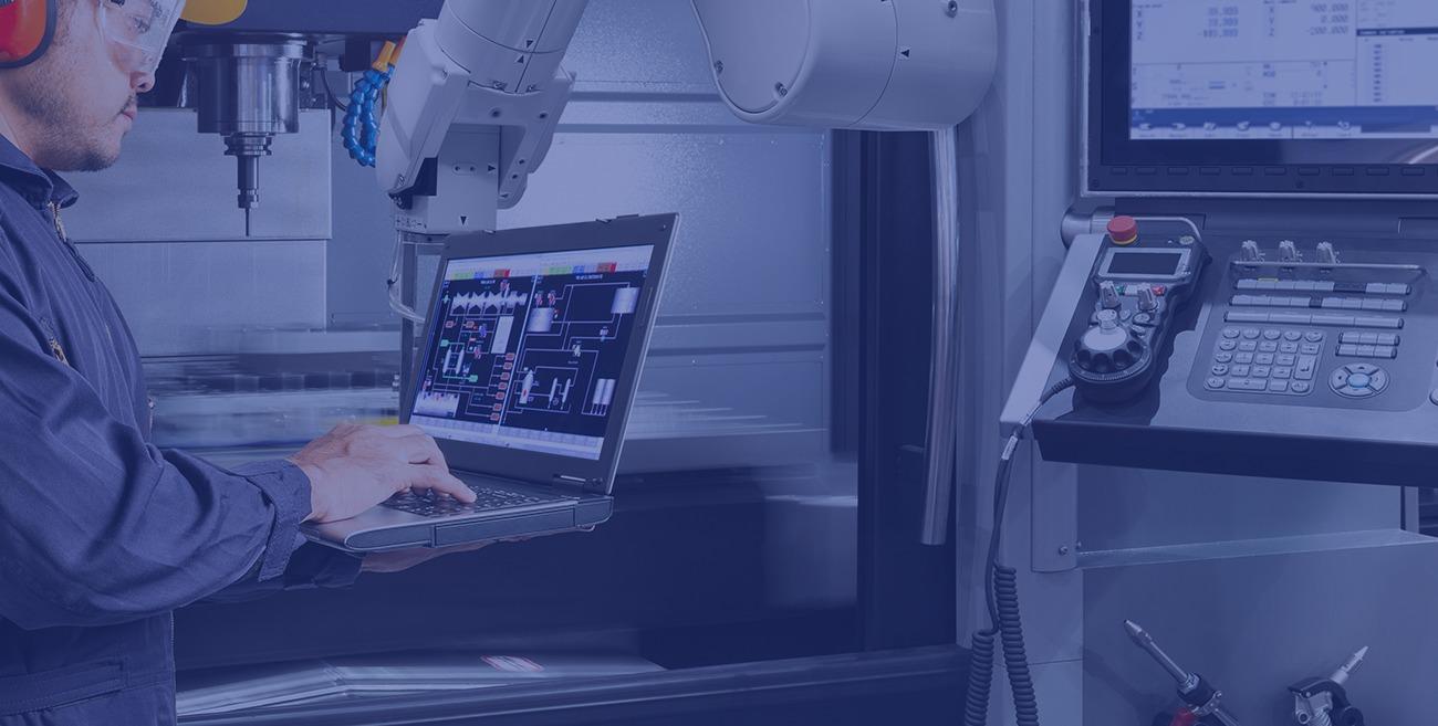 Rozšírený inteligentný monitoring CNC strojov