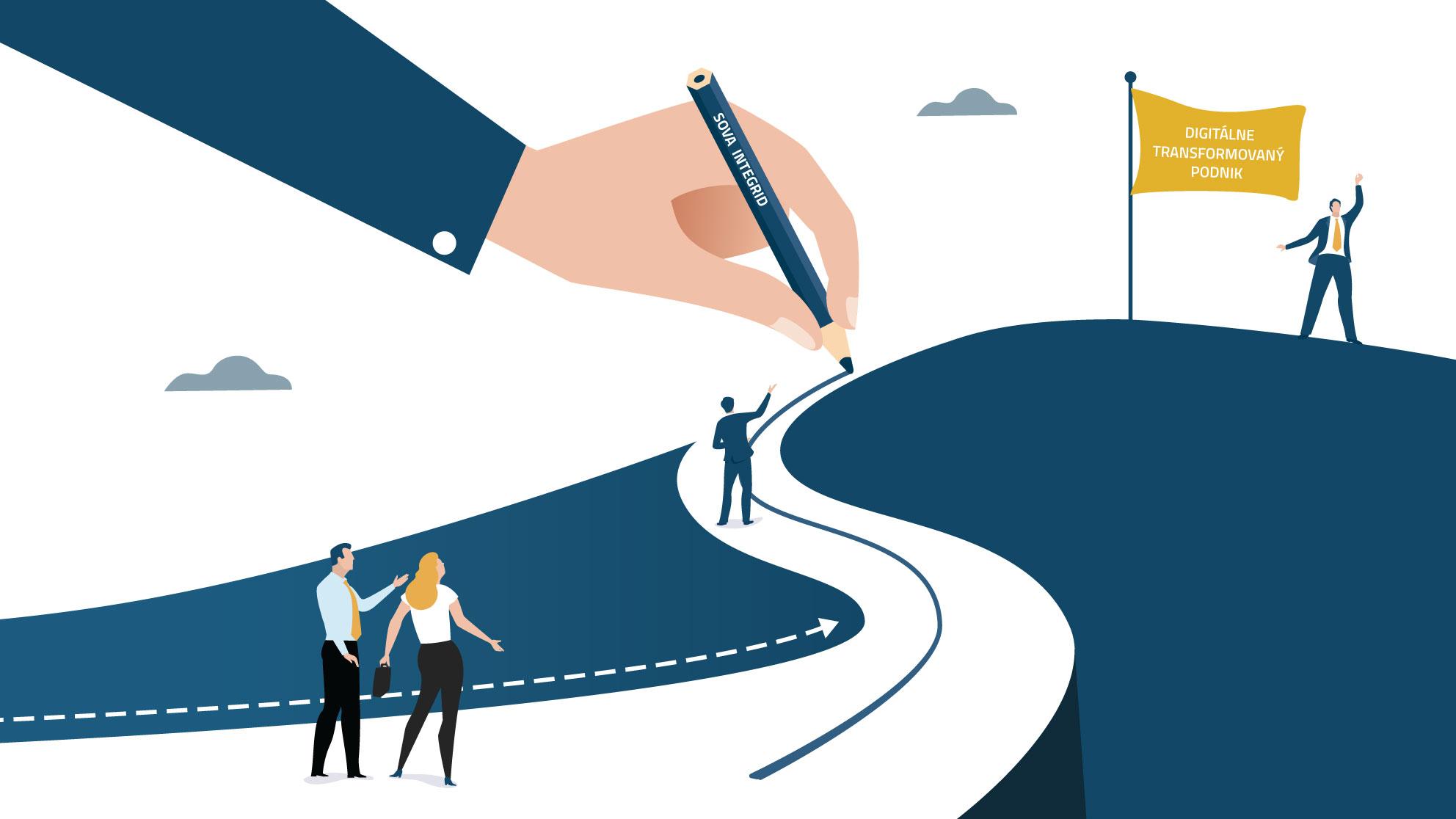 Predpokladom úspešnej digitalizácie podniku je ekonomický, nie technologický prístup